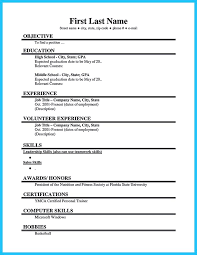 Current College Student Resume Sample by First Resume 11 First Resume Sample Extraordinary Design Ideas How