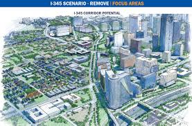 Downtown Dallas Map by Txdot Just Gave Dallas The Road Map To Its Future If The City