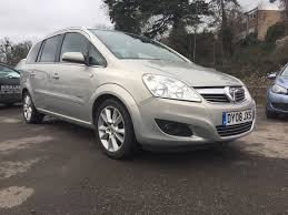 used vauxhall zafira diesel for sale motors co uk