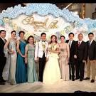 รูปดารา งานแต่งเป้ย ปาดวาด แต่งงาน ป๊อป นิธิ