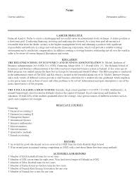resume summary examples for students 16 example of resume for college student with no job experience free sample resume template cover letter and resume writing tips