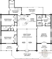 Open Floor Plans Log Homes First Floor Plan Of Adair Log Cabin Plan I Like But Add 8 Feet On