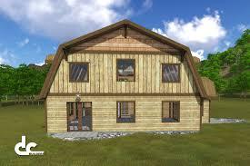 rustic gambrel barn home tillamook oregon building architecture