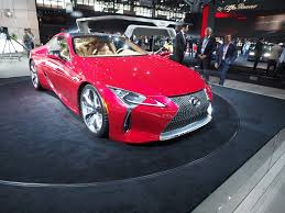 new lexus supercar 2016 the lexus lc 500 coupe debuts in new york