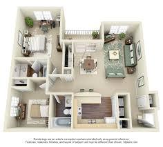 Two Bedroom Apartment Floor Plans Two Bedroom Apartment Plan Plain On Bedroom Inside 50 Two 2