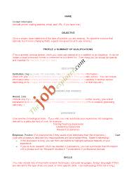 resume format template microsoft word free resume samples writing guides for all resume sample for examples of resumes templates sample professional resume format