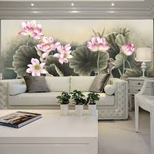 free shipping natural wallpaper for living room background wall free shipping sofa 3d three dimensional mural wallpaper tv wall wallpaper chinese style painting