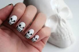 25 simple easy u0026 scary halloween nail art designs ideas