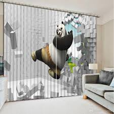 2017 photo fashion 3d home decor beautiful window curtains for