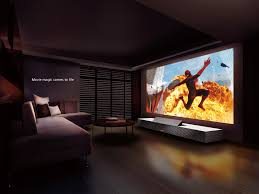 best home theater tv sony global life space ux 4k ultra short throw projector