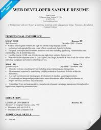 Sample Lawyer Resumes by Web Developer Resume Sample Resumecompanion Com Resume Samples