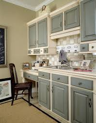 Kitchen Cabinet Drawer Fronts Grey Kitchen Cabinets Two Tone Grey Basecoat With Chocolate