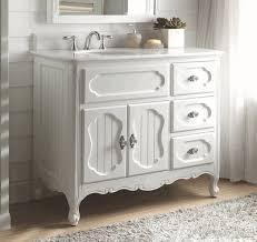 34 Inch Bathroom Vanity by 42 Inch Bathroom Vanity Victorian Vintage Style White Color 42