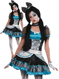 broken doll halloween costume ladies broken doll costume adults halloween fancy dress womens