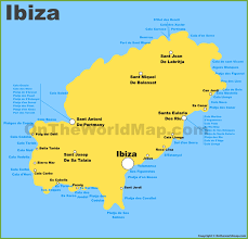 Spain Political Map by Ibiza Maps Balearic Islands Spain Map Of Ibiza