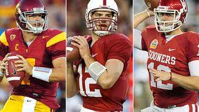 Andrew Luck, Matt Barkley, Landry Jones