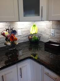Slate Kitchen Backsplash Slate Backsplash U201cfalling Water U201d Slate Backsplash Kitchen Stone