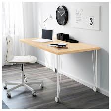 Ikea Computer Table Krille Leg With Caster Ikea