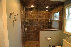 Pictures Of Small Bathrooms With Tile Bathroom Doorless Shower For Interesting Shower Room Design
