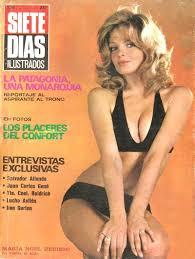 Revista Siete Días Ilustrados, Tapa María Noel Berisso y sumario ... - 7diasilustrados29111971
