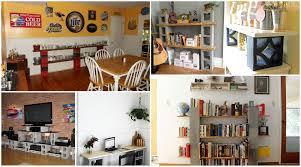 home design decorative cinder block shelves traditional large
