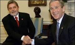 Encontro entre Lula e Bush deve evitar temas polêmicos | BBC ...