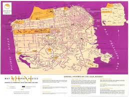 San Francisco Cable Car Map by Historical Map San Francisco Muni Transit Routes Transit Maps