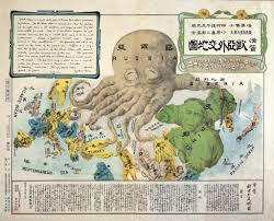 Map Of Europe During The Cold War by Cartography U0027s Favourite Map Monster The Land Octopus Big Think
