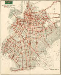 Brooklyn New York Map by Map Vintage Brooklyn Trolly System Map Circa 1930 Viewing Nyc