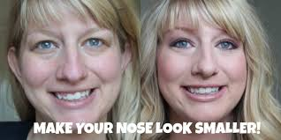 how to make a big nose look smaller tips tricks and contouring