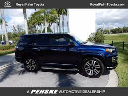 toyota 4runner 2014 used toyota 4runner rwd 4dr v6 limited at royal palm toyota