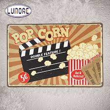 Home Movie Theater Wall Decor Online Get Cheap Popcorn Wall Decor Aliexpress Com Alibaba Group