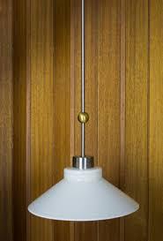 Fredrick Ramond Chandelier by Mid Century Modern Fredrick Ramond Glass Pendant Light By