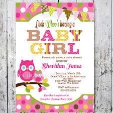 Invitation Cards For Baby Shower Templates Owl Baby Shower Invitations Stephenanuno Com