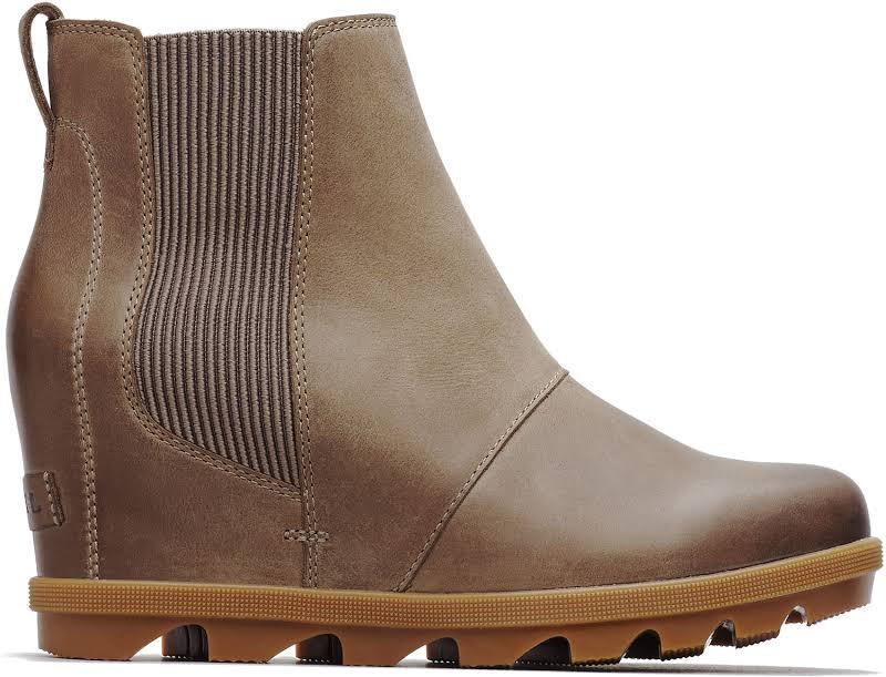 Joan Of Arctic Wedge II Chelsea Boot (Ash Brown)-10