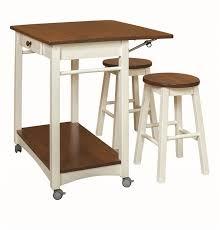 drop leaf kitchen island with bar stools