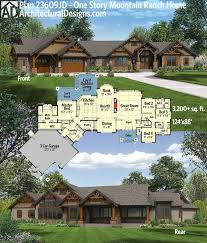 Ranch Style House Plans With Basement by Best 20 Ranch House Plans Ideas On Pinterest Ranch Floor Plans