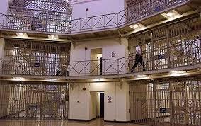 Prison Officer in the Rotunda