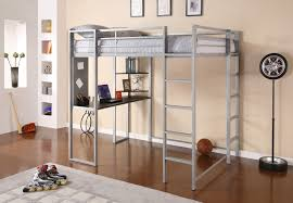 Loft Shelving by Dhp Furniture Abode Full Size Loft Bed