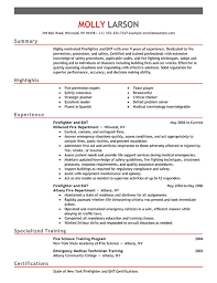 Breakupus Terrific Firefighterresumeexampleemphasispng With Heavenly Construction Resume Objective Besides Education For Resume Furthermore Resume Templates