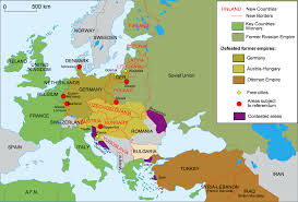 Western Europe Political Map by 40 Maps That Explain World War I Vox Com