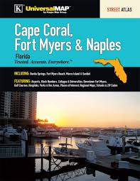 Fort Myers Zip Code Map by Cape Coral Fort Myers U0026 Naples Fl Street Atlas Kappa Map Group
