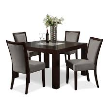 dining room black chair and table by dinette sets plus bench and