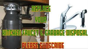 Replacing Kitchen Faucet Replace Kitchen Faucet Glacier Bay U0026 Badger Garbage Disposal