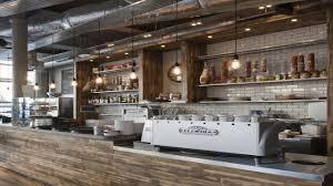 restaurant open kitchen interior design small coffee shop design