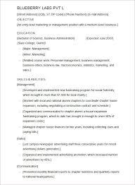 Ms Word Sample Resume by Microsoft Word Resume Template U2013 99 Free Samples Examples