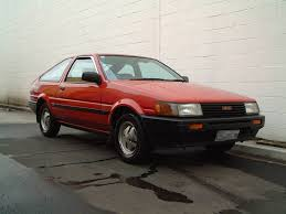 1983 toyota corolla gt mk 5 related infomation specifications