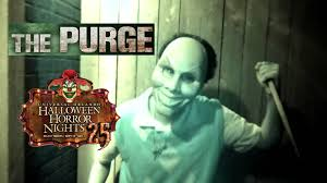 halloween horror nights peak nights the purge haunted house maze walk through halloween horror nights