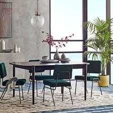 ellipse expandable dining table west elm uk