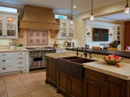 Kitchen Island With Chopping Block Top Kitchen Island With Sink And Range Rectangular White Ceramic Apron